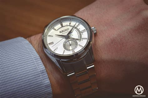 Hands On   Seiko Presage SSA303J1, a Value Prop that screams quality   Monochrome Watches