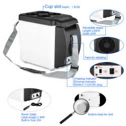 Electric Cooler For Car Australia 6l Portable Cool Box Electric Cooler Warmer Car Fridge