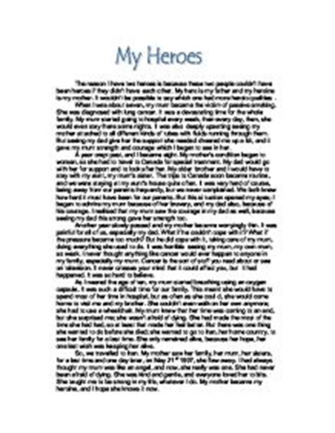 essay theme my teacher my hero my heroes gcse english marked by teachers com