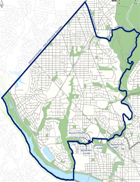 washington dc map of wards ward 3 d c councilmember cheh 187 ward 3