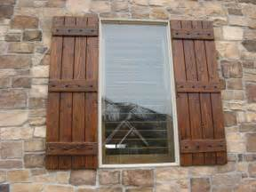 Unfinished Wood Shutters Interior Rustic Shutters Custom Exterior Designs