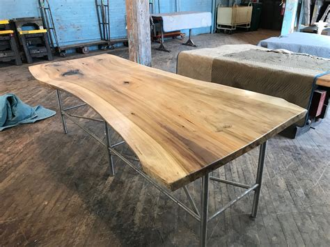 live edge table with glass and poplar burl timber salvabrani available slabs timber