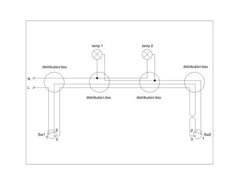 lighting single line diagram building of electrical installation for light 2 2 elplan