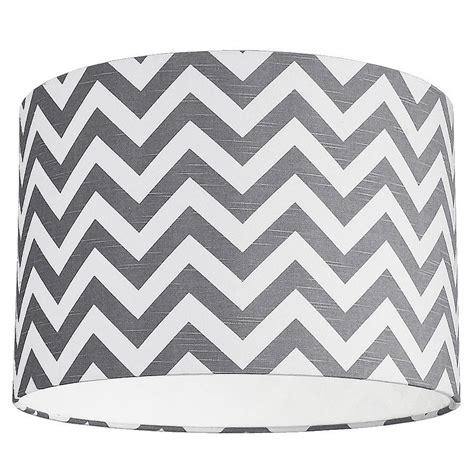 grey and white l shades zig zag lshade choice of colours by quirk