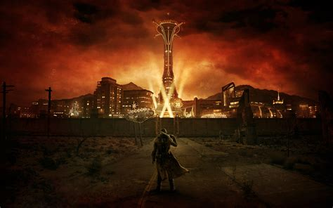 the fallout wiki fallout new vegas and more new style for 2016 2017 image ranger at new vegas entrance jpg the fallout