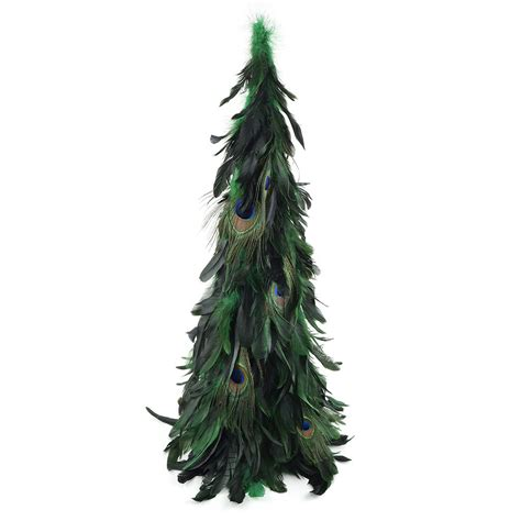 schlappen peacock feather tree kelly natural christmas