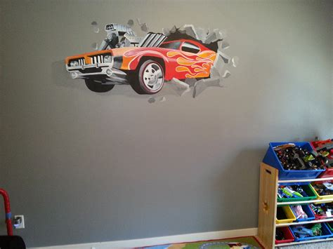 hot wheels bedroom kids gallery mb paint design