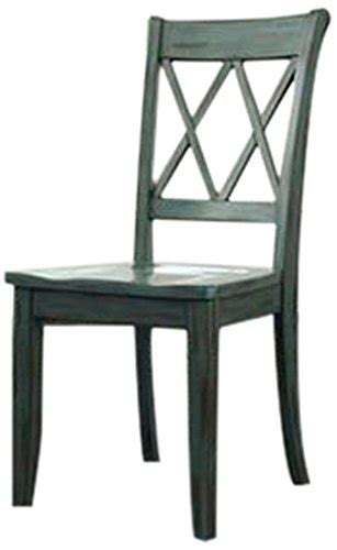 Ashley Furniture Signature Design Mestler Dining Room Side Antique Blue Dining Chairs