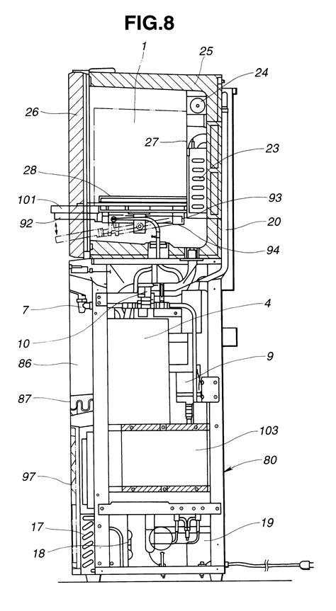 water dispenser diagram patent us6207046 water dispenser patenten