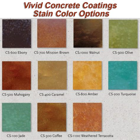 acid wash color how to acid stain concrete