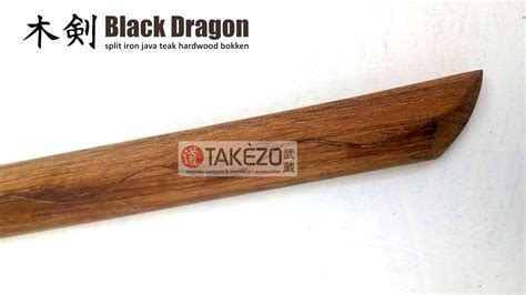 Takezo Collections Original Gold Bokken samurai sport