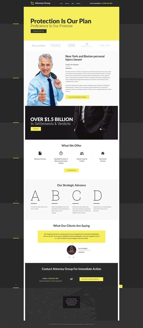 Law Firm Responsive Website Template 58315 Firm Responsive Website Template