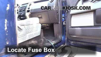 Interior Fuse Box Location 2009 2014 Ford F 150 2012