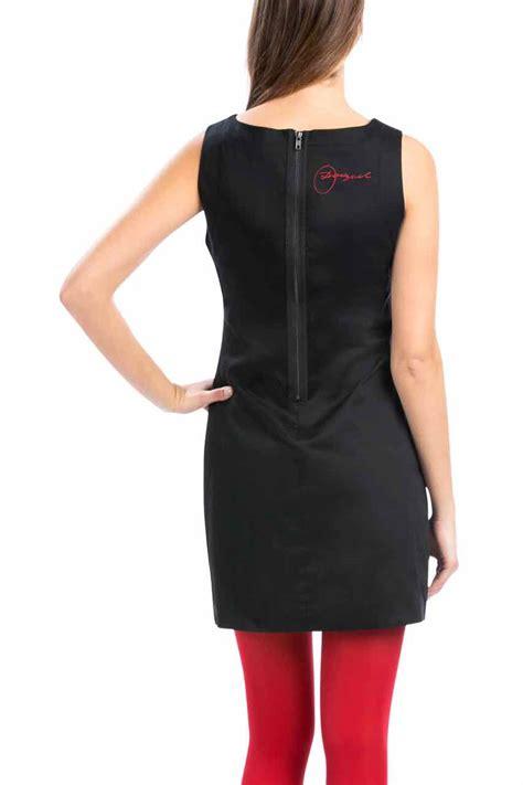 Dress Cewek Delia Black desigual dress delia 57v28g9 black white dress