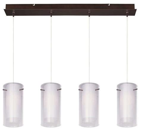 modern multi light pendants et2 lighting e94944 10bz modern multi light linear pendant