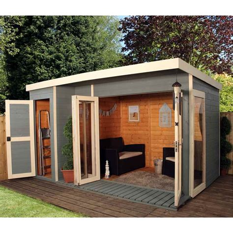 shedswarehouse oxford summerhouses 12ft x 8ft