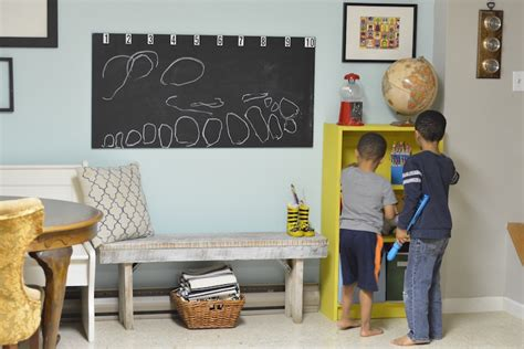 diy chalkboard for playroom what s the purpose of a formal living room anyway