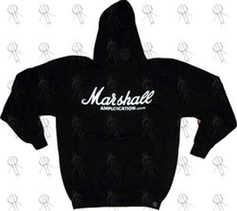 design logo hoodie marshall amplification black white logo design hoodie