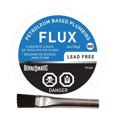 Lead Free Plumbing by 2 Oz Lead Free Plumbing Flux Rona