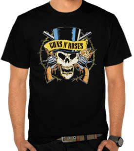 Kaos Guns N Roses Gnsnr39 jual kaos guns n roses 3 guns n roses satubaju
