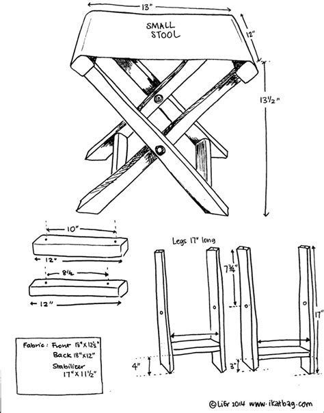 fabric crafts for men how to make your own folding c stool scouting