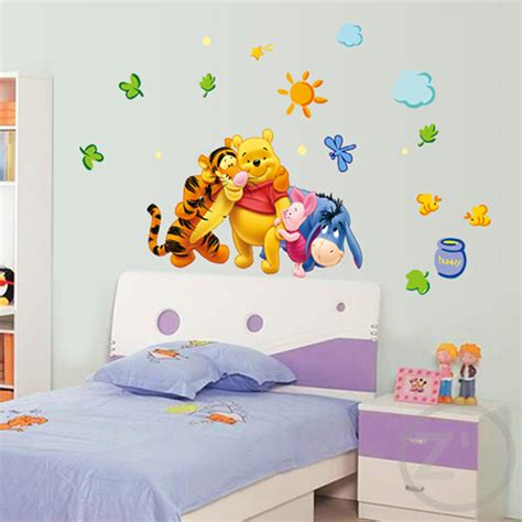 winnie the pooh home decor winnie the pooh wall sticker home decor cartoon wall decal
