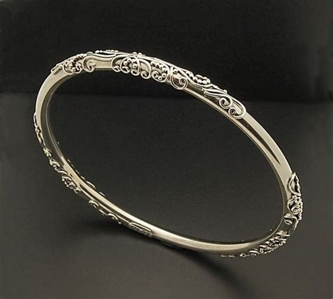 Handcrafted Bangles - indiri collection handcrafted artisan sterling silver