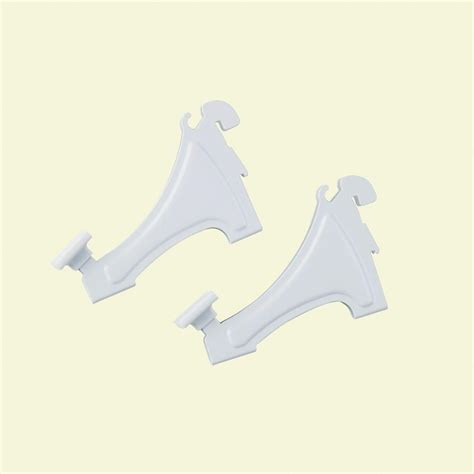 Closetmaid Shoe Shelf by Closetmaid Shelftrack 3 In Shoe Shelf Brackets 2 Pack
