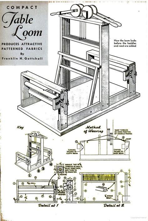floor loom plans 289 best sca tablet weaving images on pinterest card