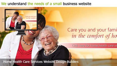 Custom Web Design For Home Health Care Home Health Care Website Design Builder
