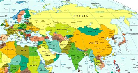 eurasia map the geopolitical realities of eurasia the state of the century