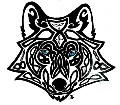 celtic wolf by neodragonarts on deviantart