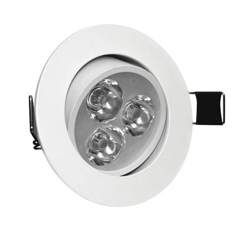 Led Ceiling Spot Lights 3w Angle Adjustment Recessed Spotlight Led Ceiling Downlight