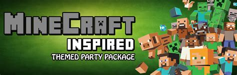 Birthday Decoration At Home customised minecraft themed birthday packages in sg