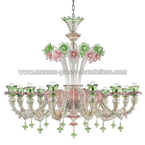 lustre verre murano quot ines quot lustre en verre de murano murano glass chandeliers