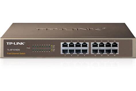 Switch Hub 16 Port 10100mbps Rackmount 19 Tplink Tl Sf1016 tp link tl sf1016ds 16 port 10 100mbps desktop switch tl sf1016ds ccl computers