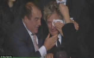 Rod Stewarts Beat It To Step by Rod Stewart Breaks Into Tears As His Beloved Team