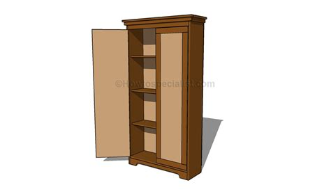 Building A Wardrobe - how to build an armoire wardrobe howtospecialist how