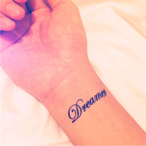 2pcs dreamer tattoo inknart temporary tattoo pack