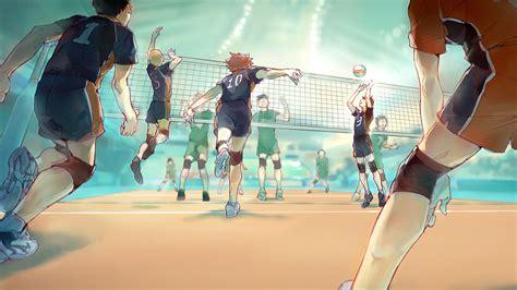 anime volleyball hinata shouyou kageyama tobio volleyball anime