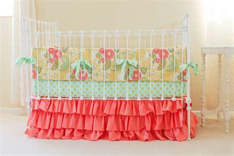 coral baby bedding coral buttercup baby bedding lottie da baby