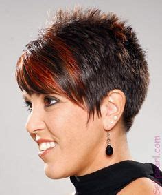 pic of back of spikey hair cuts very short hairstyles back view haircut pinterest