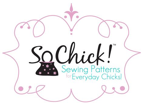 sewing pattern logos so chick the blog april 2012