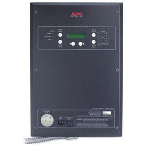 Apc 10 Circuit Universal Transfer Switch Uts10bi