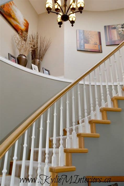 25 best ideas about oak wood trim on banisters foyer colors and entryway paint colors