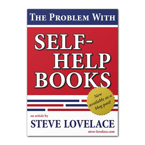 self help books the problem with self help books steve
