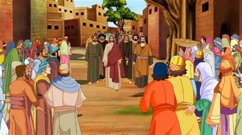 wedding at cana animation bible stories for zacchaeus jesus