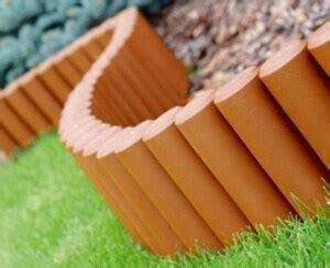 curved wooden garden edging home design