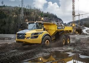 Volvo A40g Volvo Schlie 223 T 220 Bernahme Des Dumper Gesch 228 Fts Terex Ab