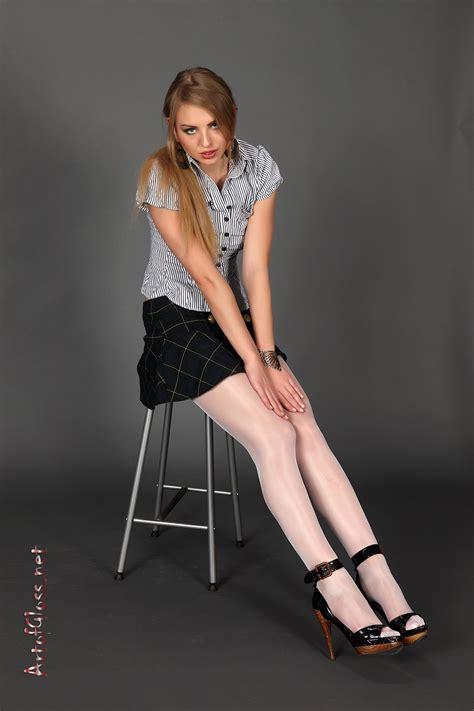 artofgloss white pantyhose fashion womens fashion